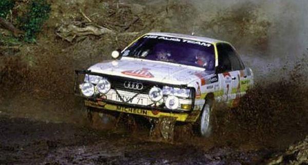 Audi 200 rallye