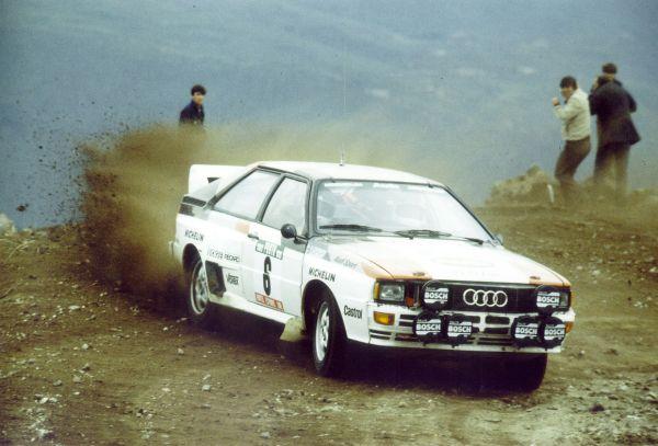Audi rallye Quattro A1