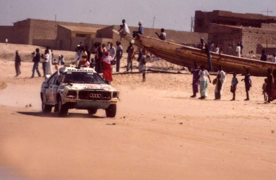 1985 Paris-Dakar, Quattro by ROC