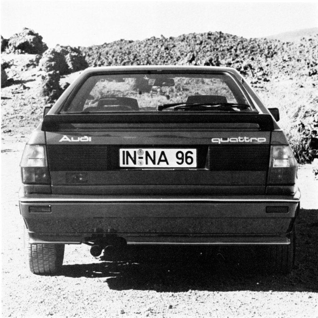 Audi pre-production Stamm-Quattro