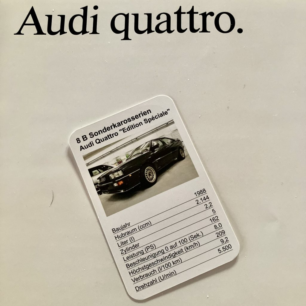 Audi Quattro Edition spéciale