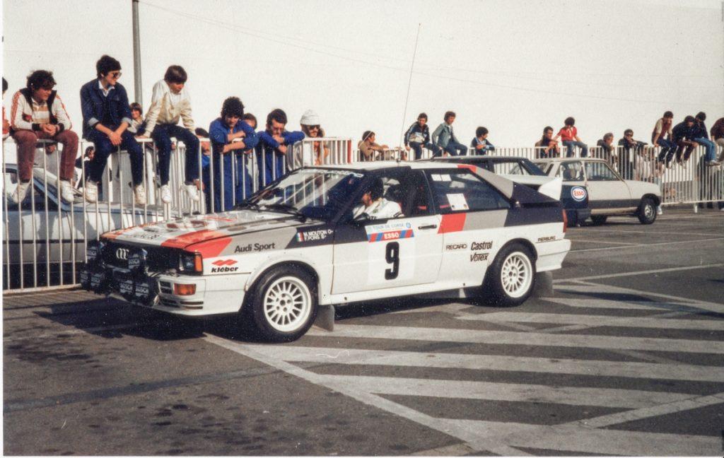 Audi rallye Quattro