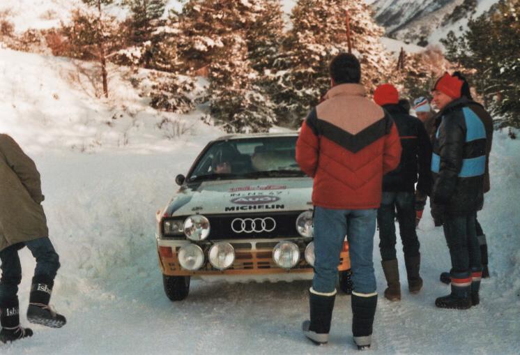 Audi Quattro A2 Gr B